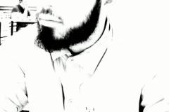 Omar Ali Ibrahim, Black & White. Lebanon, Beirut, Nisha clicked it!